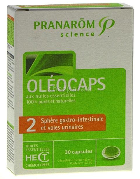 Mélanges & Spécialités : Pranarom Oléocaps 2 Sphère Gastro