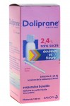 Doliprane 2.4% Suspension Buvable Sirop Sans Sucre 100ml