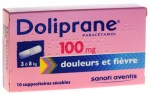 Doliprane 100mg 10 Suppositoires
