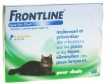 Frontline Classic Chats Spot-on 6 Pipettes