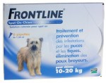 Frontline Classic Chiens M 10-20kg Spot-on 6 Pipettes