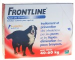 Frontline Classic Chiens XL 40-60kg Spot-on 6 Pipettes