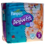 Pampers Active Fit Taille 3 (4-9kg)