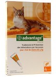 Advantage 40 Chat - de 4kg Bte de 4