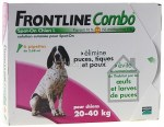 Frontline Combo Spot On Chien L 20-40 kg 6 pipettes