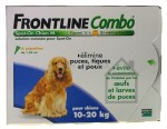 Frontline Combo Spot On Chien M 10-20 Kg 6 pipettes
