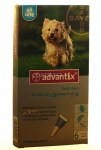 Advantix Petit Chien Spot On 4-10 Kg 6 pipettes