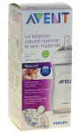 Avent Biberon Natural 260ml Transparent