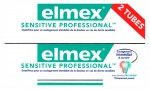Elmex Sensitive Professional Dentifrice 75ml Lot de 2