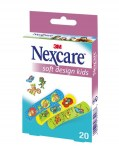 Nexcare Soft Design Kids 20 Pansements Enfants