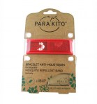 Parakito Bracelet Anti-Moustique Hawai Rouge