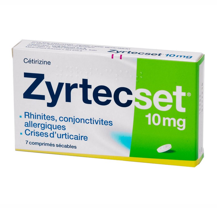 Zyrtec Set 10mg Comprimés