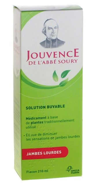 Jouvence de l'Abbé Soury Flacon 210ml