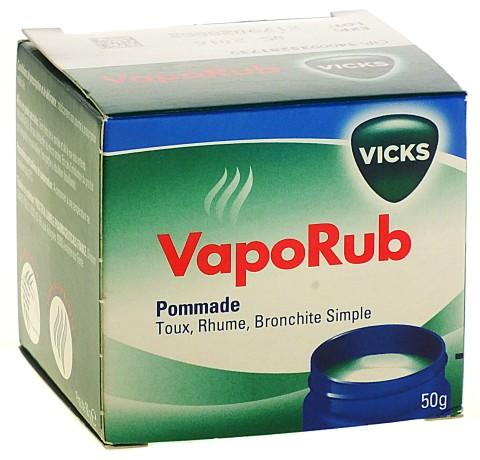 baumes inhalations vicks vaporub pommade 50g. Black Bedroom Furniture Sets. Home Design Ideas