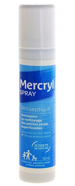 Mercryl Spray Antiseptique 50ml