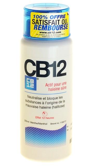 CB12 Bain de Bouche Mauvaise Haleine