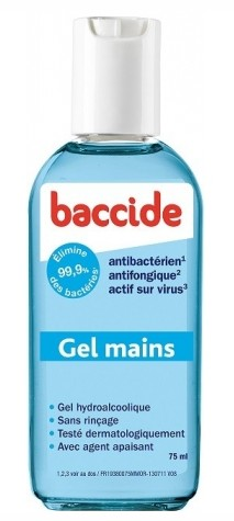 Baccide Gel Mains 75ml