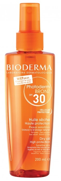 Bioderma Photoderm Bronz SPF 30 Huile Brume Solaire Invisible 200ml