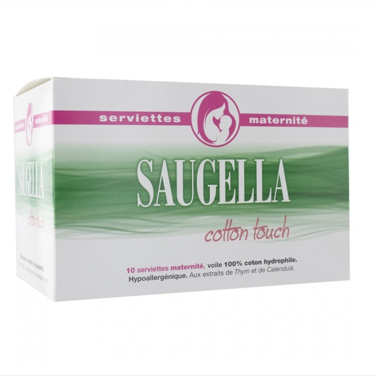 Saugella Cotton Touch Serviettes Maternité