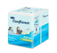 incontinence hygiene confiance al se jetable niveau 1 60x60cm. Black Bedroom Furniture Sets. Home Design Ideas