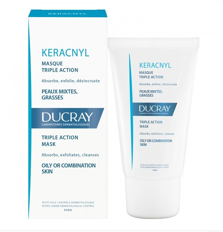 acn peau grasse ducray keracnyl masque 40ml. Black Bedroom Furniture Sets. Home Design Ideas