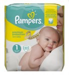 Pampers New Baby Sensitive Taille 1 (2-5kg)