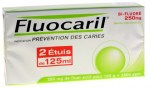 Fluocaril Bi-Fluoré 250mg Menthe Pate Dentifrice 125ml Lot de 2