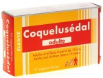 Coquelusedal Adulte 10 Suppositoires