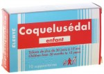 Coquelusedal Enfant 10 Suppositoires
