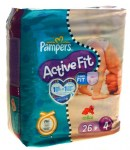 Pampers Active Fit Taille 4 (7-18kg)