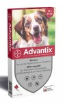 Advantix Chien Moyen Spot On 10-25 Kg 4 pipettes