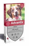 Advantix Chien Moyen Spot On 10-25 Kg 6 Pipettes