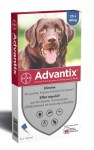 Advantix Grand Chien Spot On 25-40 Kg 6 pipettes