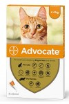 Advocate Petit Chat - de 4kg Spot-on 3 Pipettes