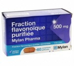 Fraction Flavonoique Purifiee 500mg 60 Comprimés