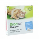 Drontal Chat Duo 4 Comprimés