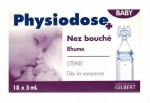 Physiodose Baby Hypertonique 18 Unidoses